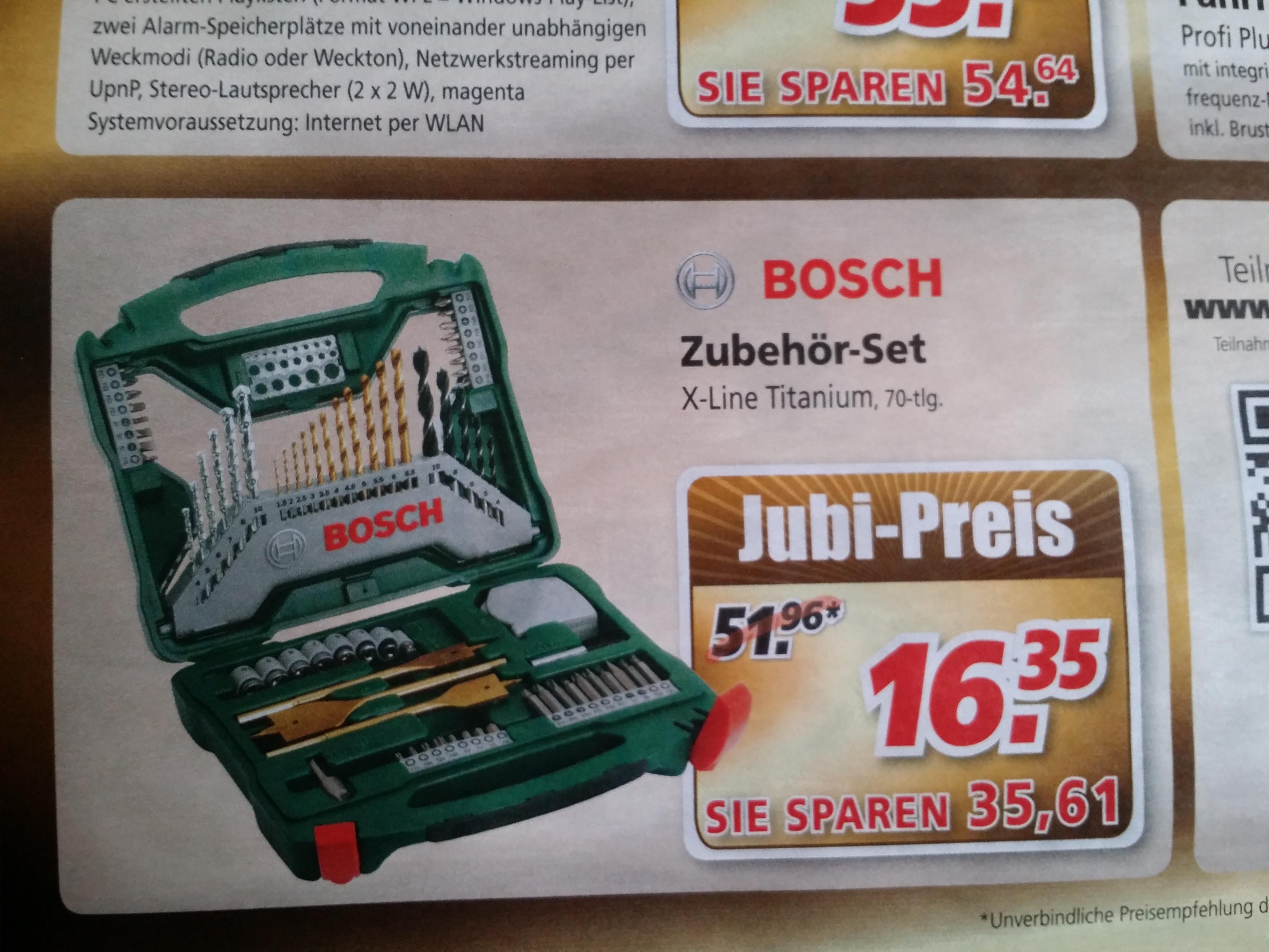[Offline Bauspezi] Bosch X-Line Titanium Set 70-tlg.