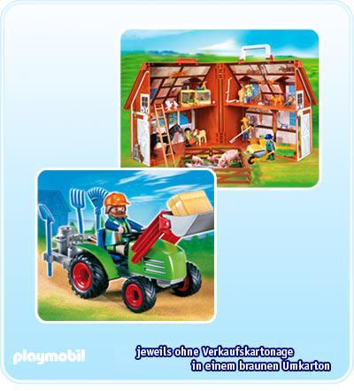 Playmobil Sonderposten - Bauernhof-Aktion