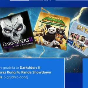 [PS+ Spiele Dezember 2017] Darksiders II: Deathinitive Edition & Kung Fu Panda: Showdown of Legendary Legends