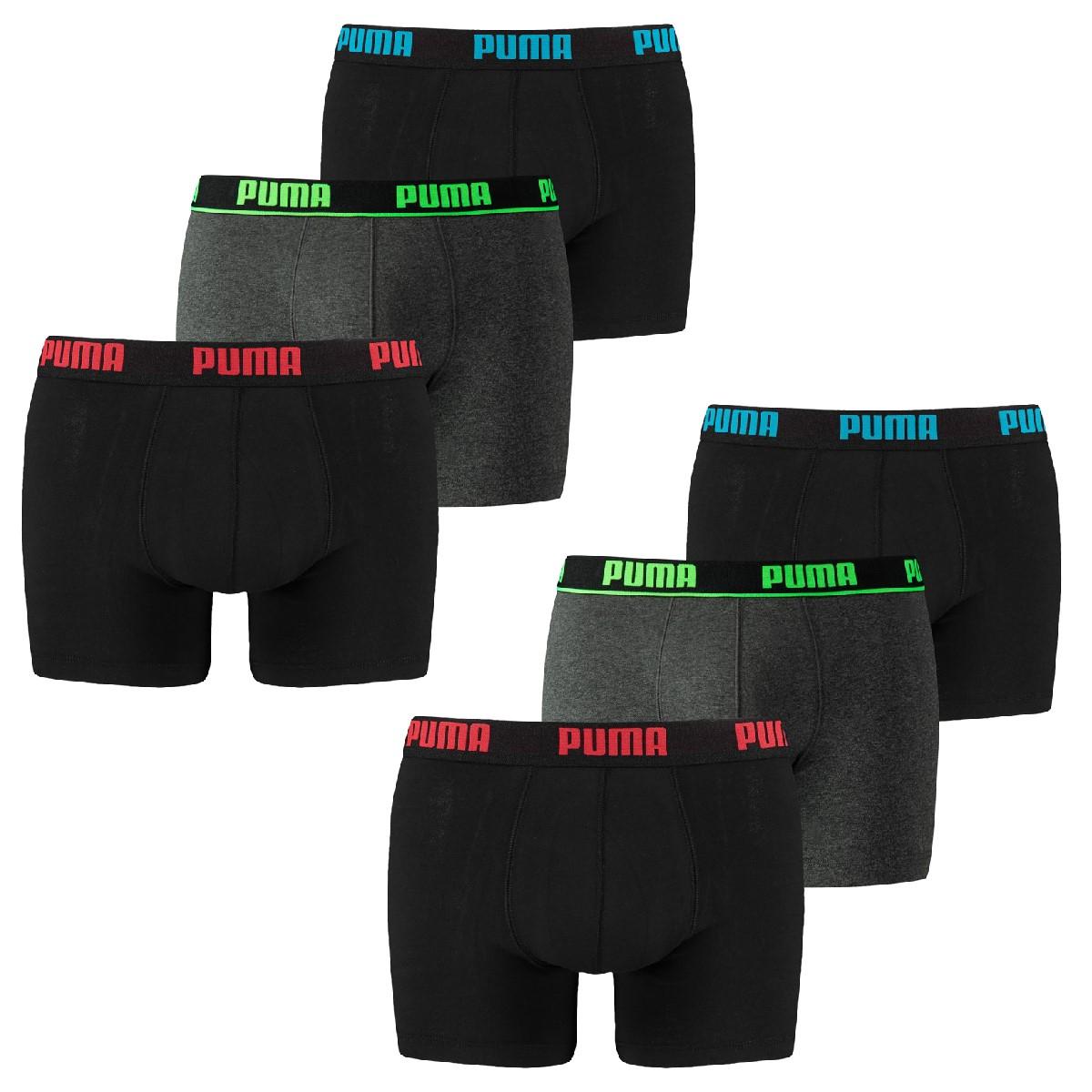6er Pack Puma Boxer Boxershorts Unterwäsche Catbrand Promo