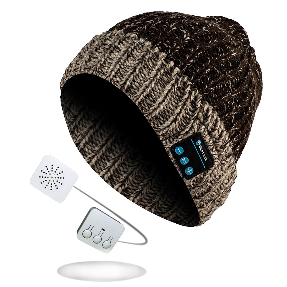 Bluetooth Kopfhörer Winterstrickmütze in verschiedenen Varianten meliert für 14,97€ inkl. Versand