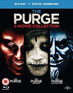 The Purge 1 - 3 (Blu-ray + Copy) für nur 9,92€ [Zoom.co.uk]