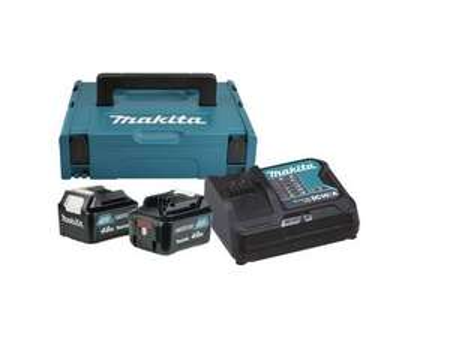 [Allyouneed] Makita Power Source-Kit 18V/4,0Ah, 2x BL1840B + DC18RC + MAKPAC