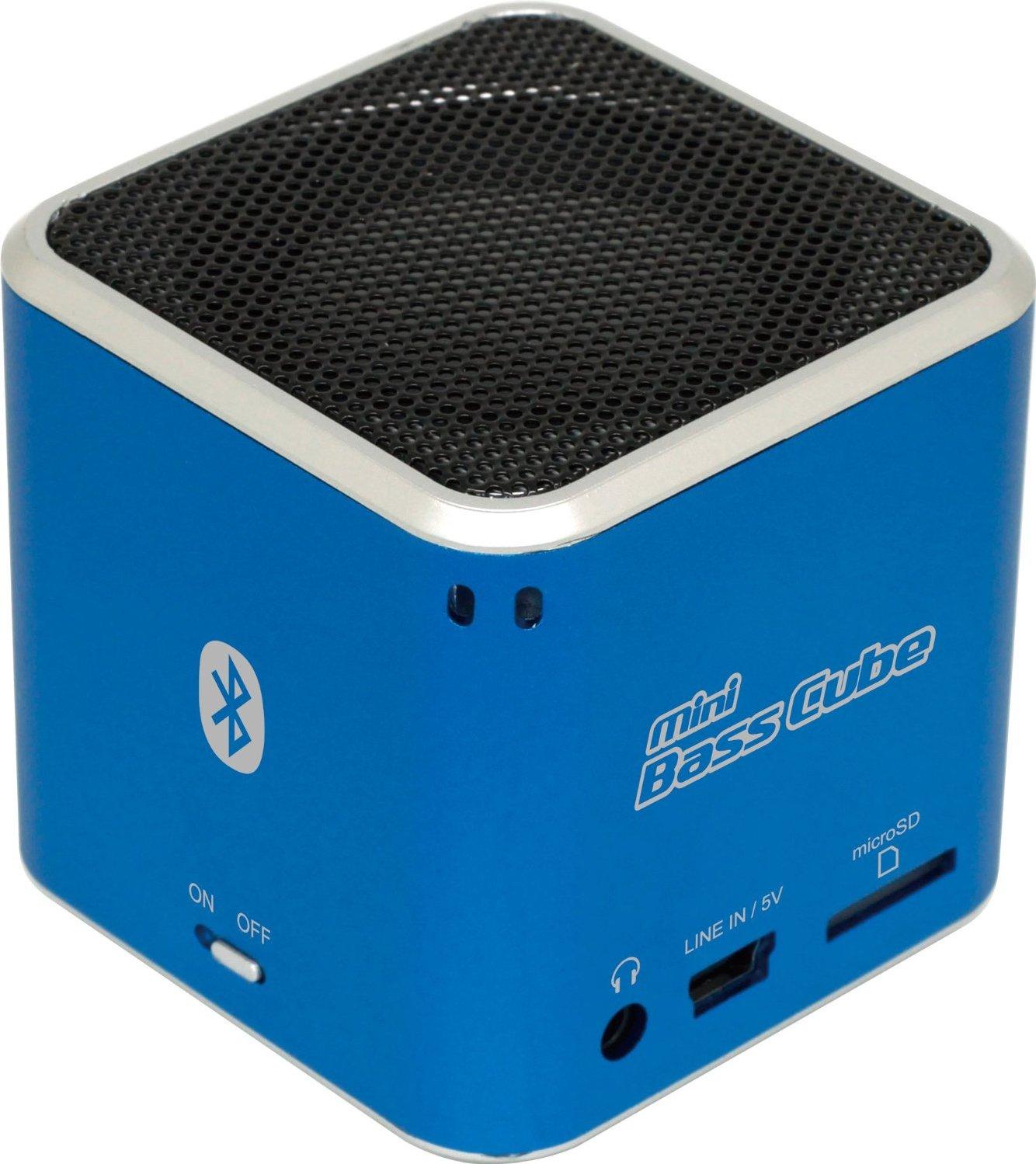 "[Kaufland Wetzlar] Jay-tech ""mini Bass Cube"" Bluetooth Lautsprecher für 5,99€"