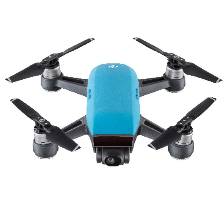 DJI Spark Drohne Sky Blau für 399 Euro