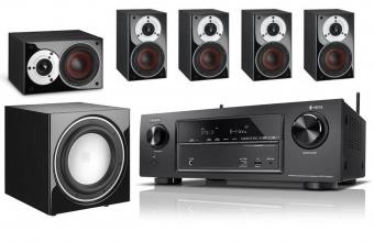 [AVR 5.1 Bundle] Denon X1400H AV-Receiver und Dali Zensor Pico 5.1 Lautsprechersystem