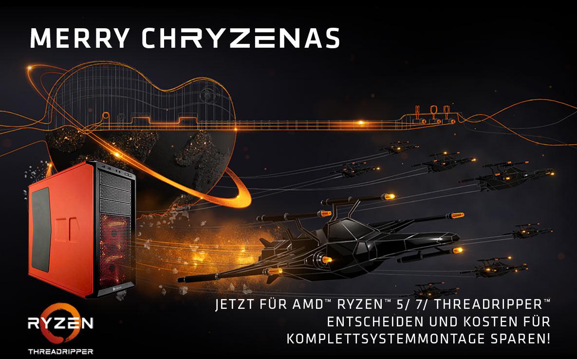 Kostenloser Systemzusammenbau für Ryzen 5/7 und TR-Systeme bei Mindfactory