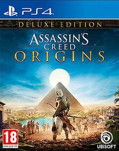 Assassin's Creed: Origins Deluxe Edition (PS4/Xbox One) für 50€ (Game.co.uk)