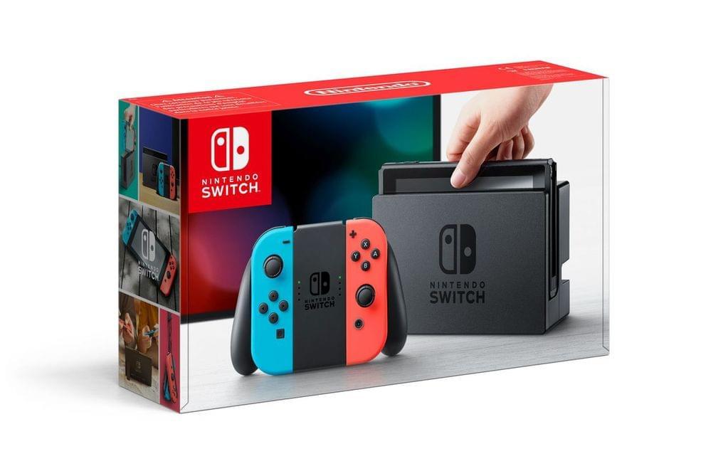 Nintendo Switch für 274,59 € [real Family & Friends]