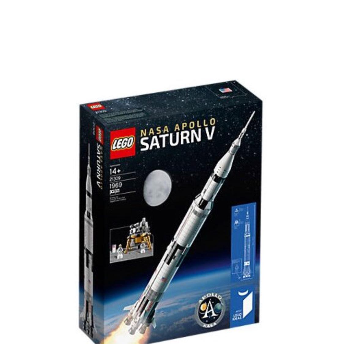 Lego NASA Apollo Saturn V Lokal Friedberg Toys R us