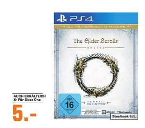 [Regional Saturn Köln Hansaring] The Elder Scrolls Online Tamriel Unlimited (Playstation 4 und Xbox One) für je 5,-€
