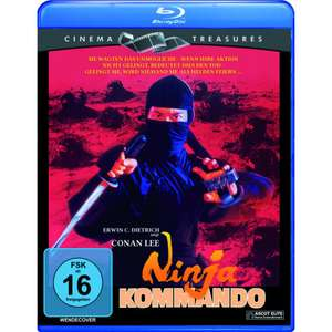 Ninja Kommando (Cinema Treasures) (Blu-ray) für 4,99€ (Müller)