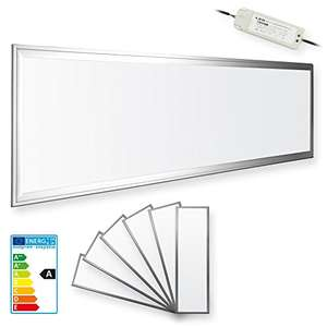 [MP] LEDVero z.B. 6er Set 120x30cm Ultraslim LED Panel - dimmbar
