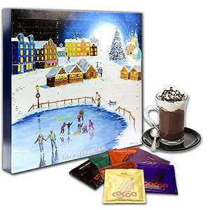 "Trinkschokolade & Chai BIO-Adventskalender ""Winterdorf"" - Edition 2017 1KG [Amazon]"