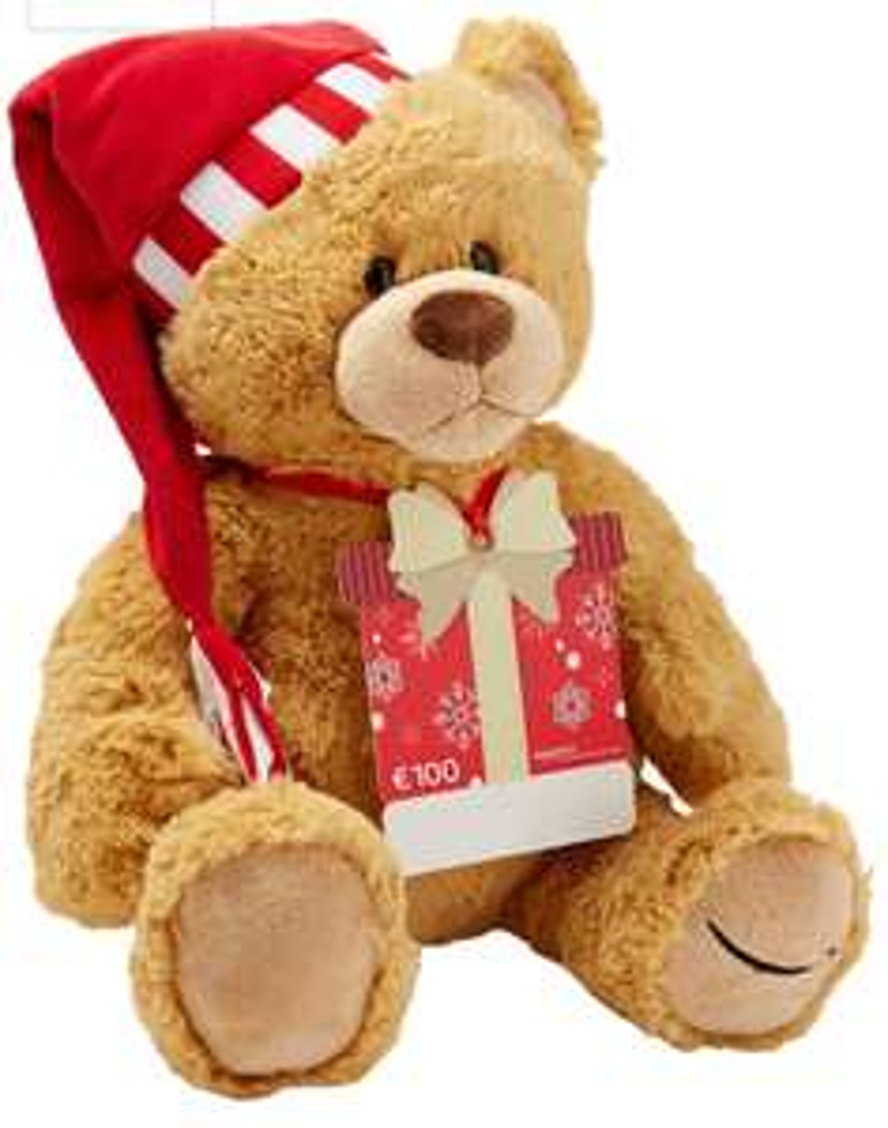 Amazon 100€ Geschenkgutschein mit Gratis Teddybär [Prime]