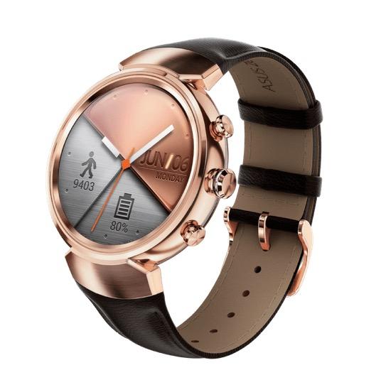 Media Markt ASUS ZenWatch 3 Smartwatch Edelstahl Leder Roségold oder Grau nur 149 €