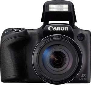 [voelkner] Canon Digitalkamera SX-430 IS 20.5 Mio. Pixel Opt. Zoom: 45 x Schwarz GPS