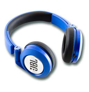 JBL E40 BT Wireless Bluetooth On-Ear Stereo Kopfhörer in blau