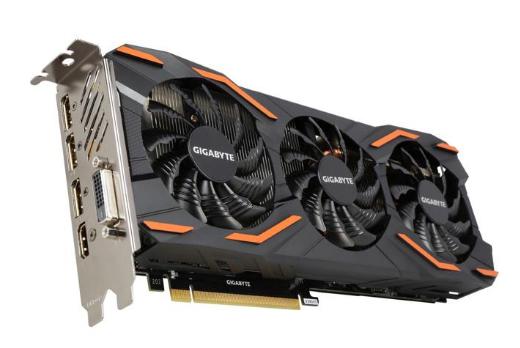 GIGABYTE GeForce GTX 1080 zzgl. Versand