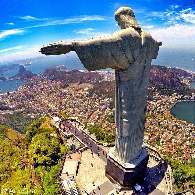Gabelflüge: Brasilien [Februar - April] - Hinflug von Amsterdam nach Rio De Janeiro und zurück nach Paris ab nur 388€ inkl. Gepäck