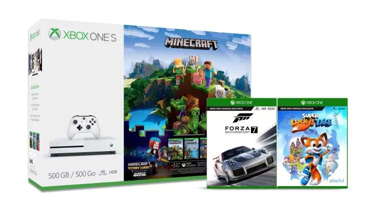 Minecraft Xbox One S Family Pack (5Spiele davon 4exclusiv Xbox)) - 254,16€ möglich