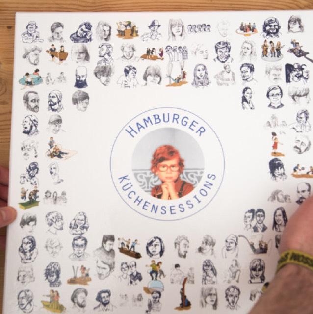 Randgruppendeal VINYL+CD: Hundert Hamburger Küchensessions – 8x Vinyl in kaschierter Box + CD #4