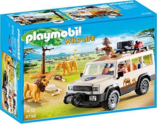 [Amazon] PLAYMOBIL 6798 - Safari-Geländewagen mit Seilwinde