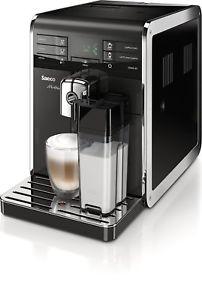 [philips@eBay] Philips Saeco HD8869/11 Moltio Premium Kaffeevollautomat (austauschbarer Bohnenbehälter, integrierte Milchkaraffe, 15bar, 5-stufiges Keramikmahlwerk, doppelter Kaffeeauslauf) in schwarz