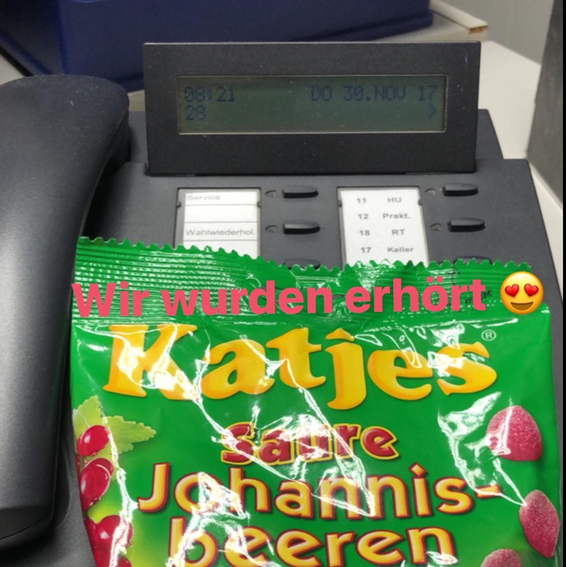 (Lokal Essen Lecker Lecker) Katjes Saure Johannisbeeren 2 für 1 €
