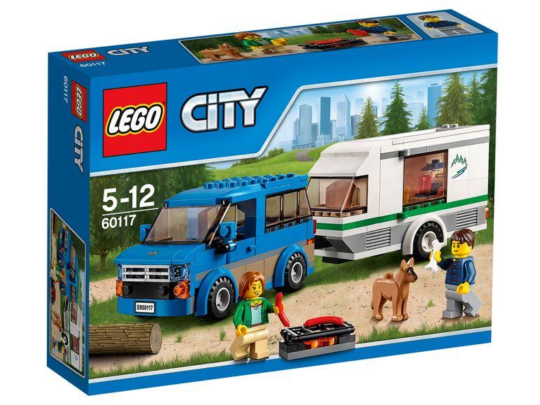 [LIDL] LEGO City - Van und Wohnwagen und viele weitere zum Top-Preis (ab 11.12)