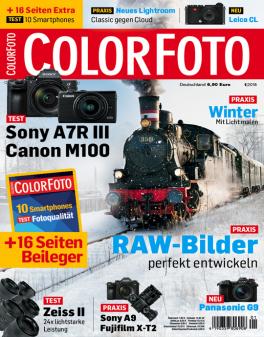Miniabo: 3 x (+1) Zeitschrift Colorfoto für 5,- €