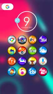 [Google Play] Candoy - Icon Pack (Android) kostenlos - statt 0,59€