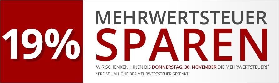 Druckerzubehör: 19% MwSt. sparen + Gratis-Artikel