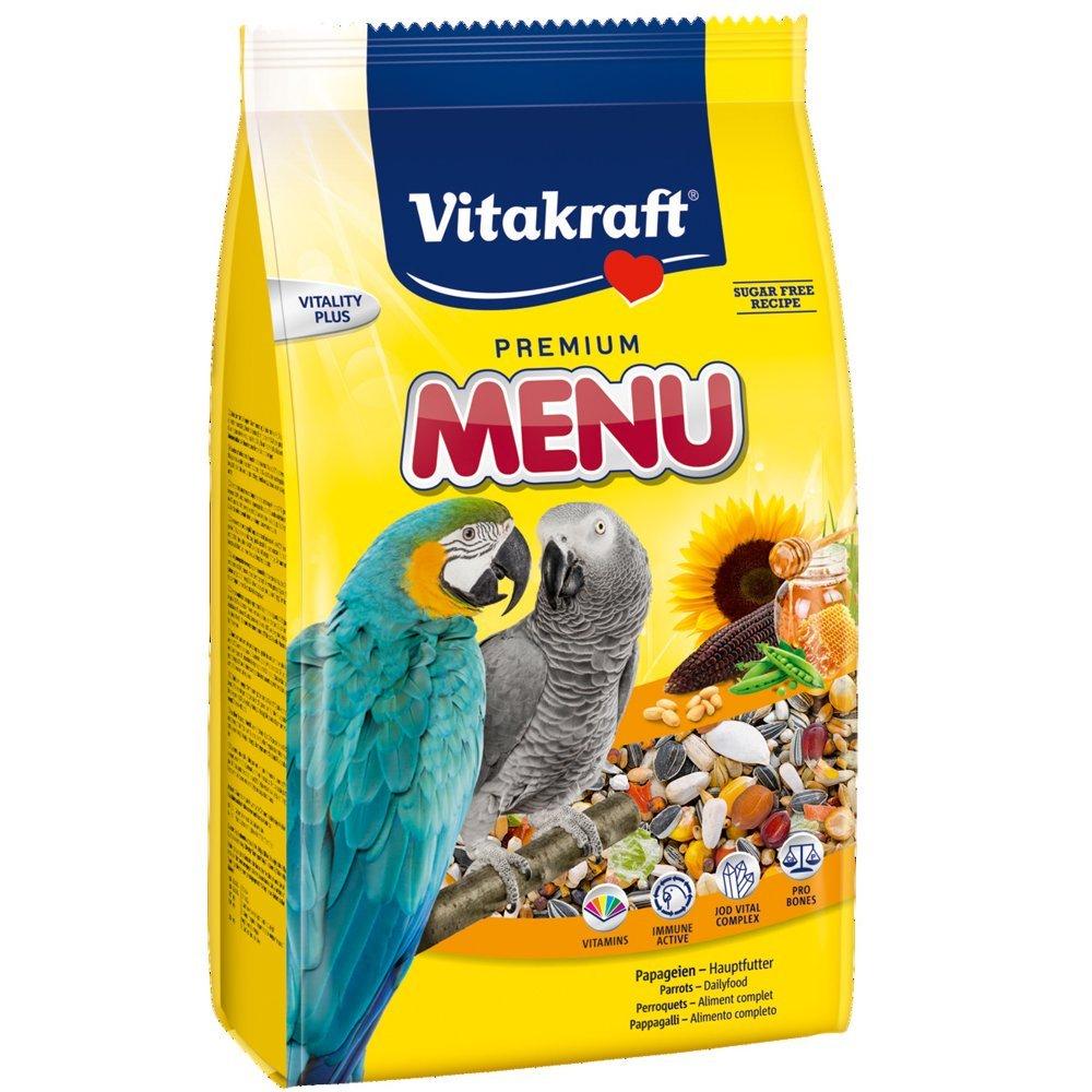 Vitakraft Premium Menü, Hauptfutter für Papageien (1 x 3 kg) für 5,66€ [Amazon Plus Produkt]