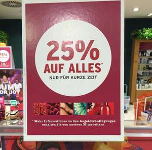 THE BODY SHOP  25% AUF ALLES