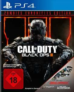 Call of Duty Black Ops III Zombies Chronicles Edition Ps4 (Gamestop)