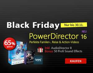 Cyberlink PowerDirector 16 ULTIMATE - Deutsche Downloadversion Kanada