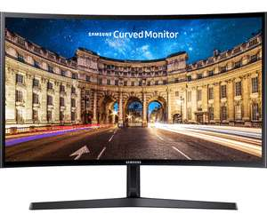 [cyberport_Filiale_vor_Ort] Samsung 27 Zoll Curved Full HD Monitor C27F396FHU (VA-Panel, 4 ms, AMD FreeSync, HDMI, 60 Hz)