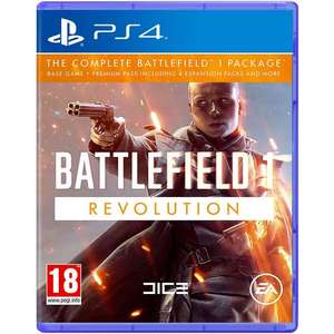 Battlefield 1: Revolution (Game inkl. Premium-Pass) (PS4) für 21,74€ & Battlefield 1: Revolution (Xbox One) für 22,50€ (MyMemory UK)