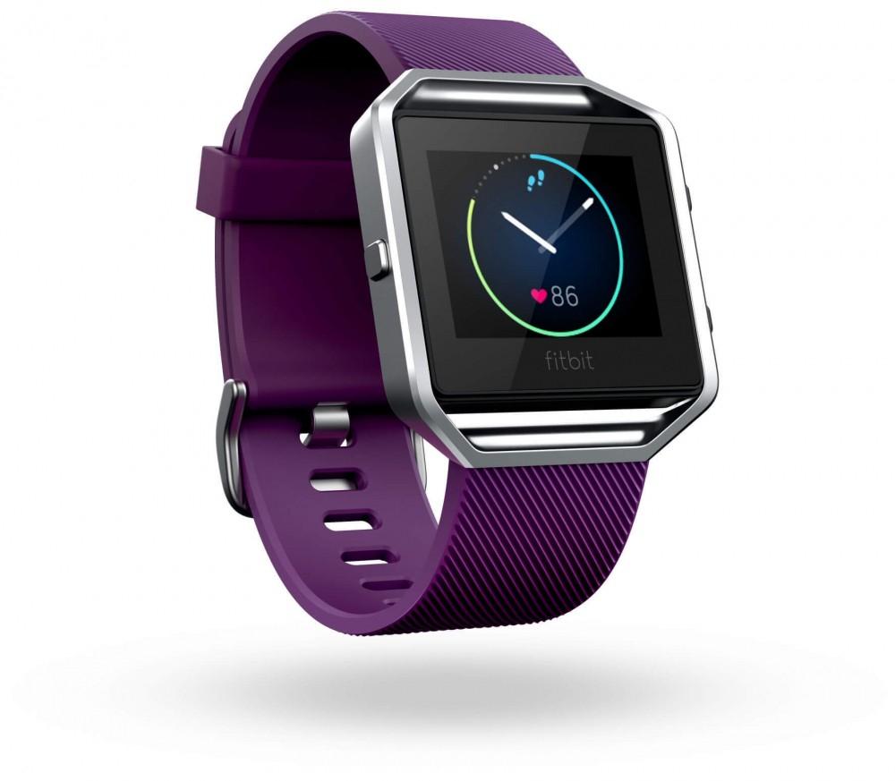 Fitbit Blaze Pflaume S/L Smartwatch / Pulsuhr Keller-Sports