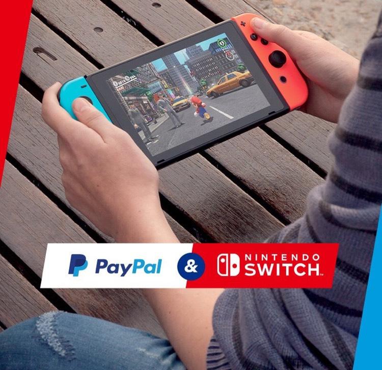 5€ sparen bei einem Einkauf von 20€ mit PayPal im Nintendo eShop