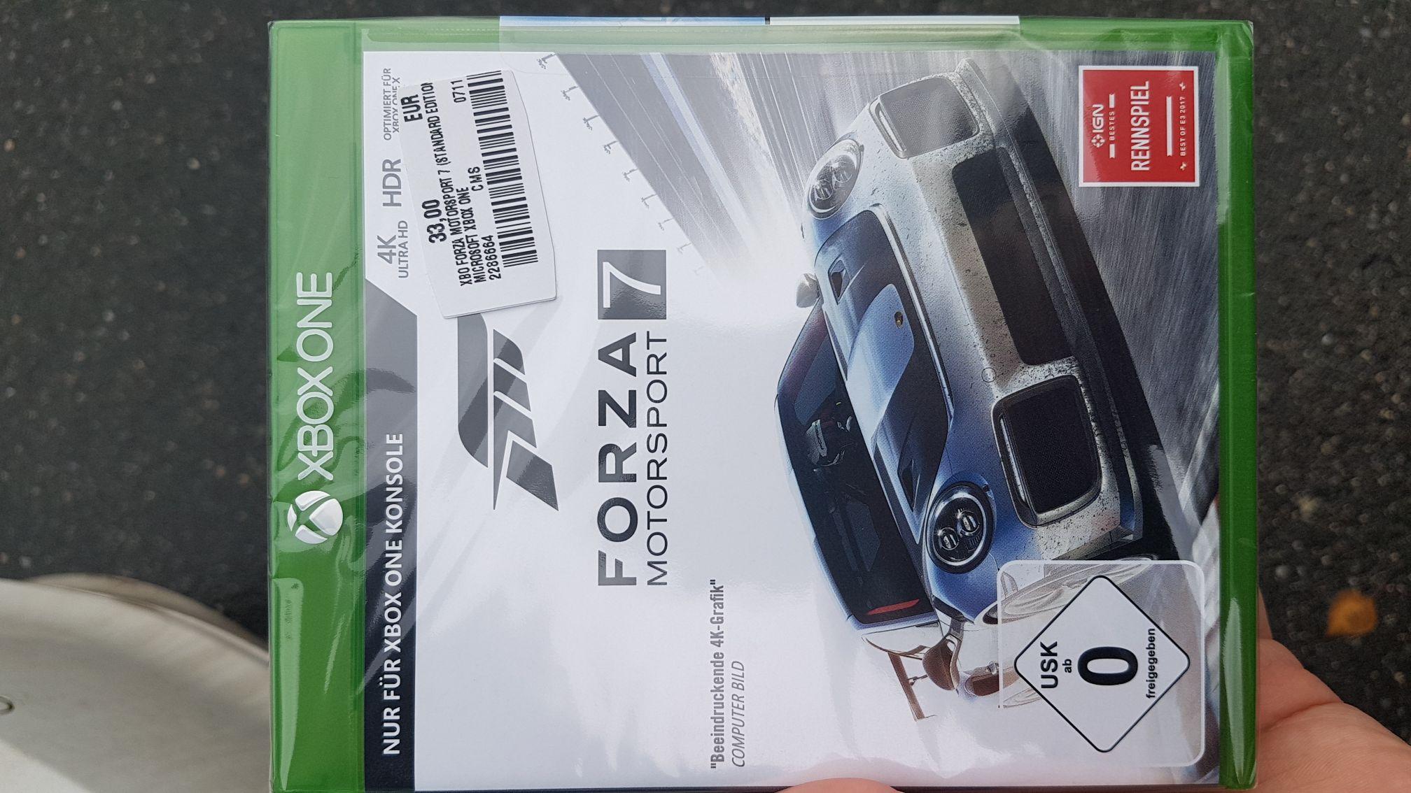 (Lokal - Nürnberg - Mediamarkt) Forza Motorsport 7 XBox