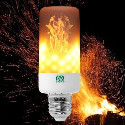 YWXLight E27 LED Flame Effect Light Bulb - LED Lampe mit Flammeneffekt