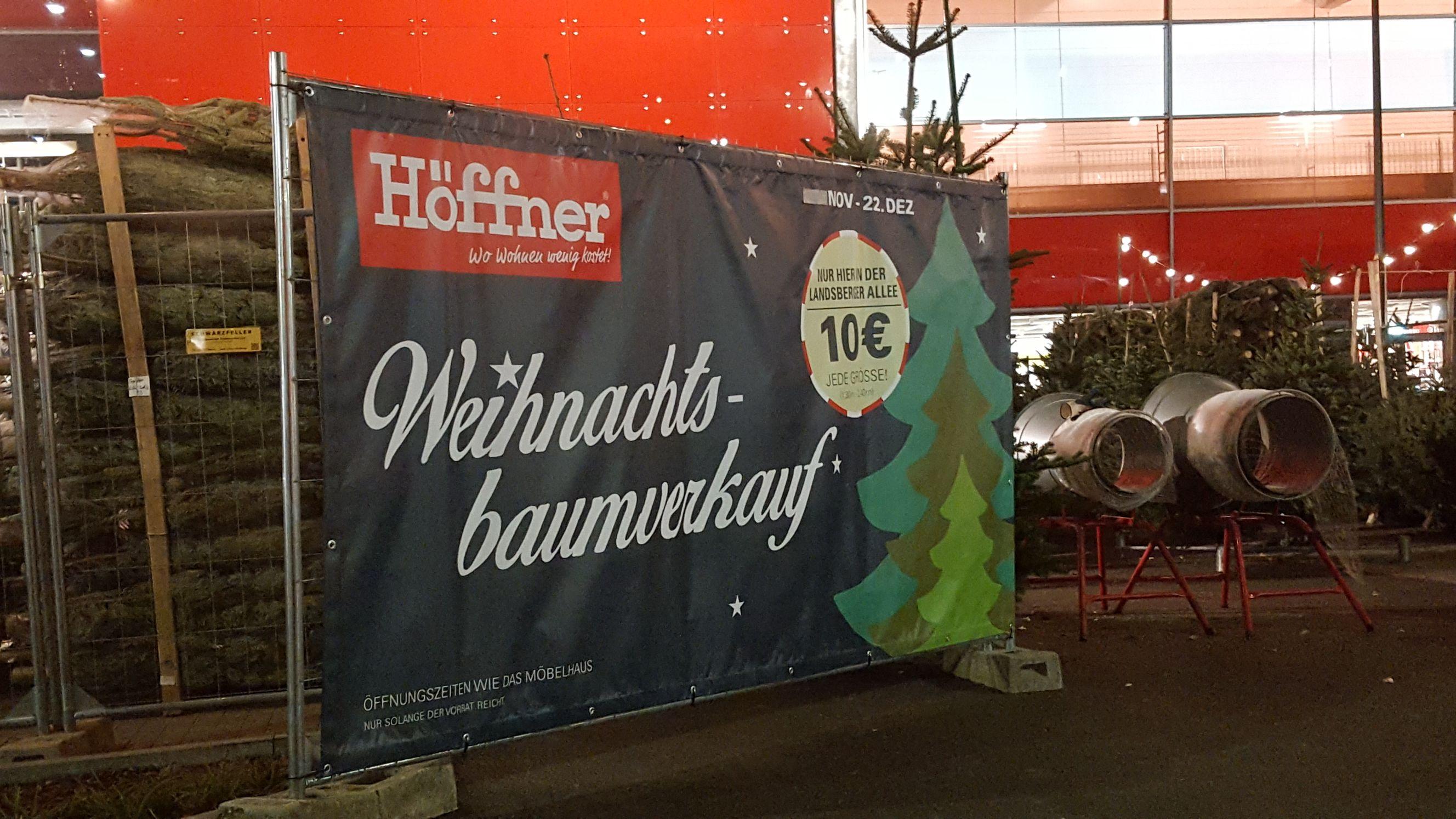 [Lokal Berlin-Lichtenberg] Weihnachtsbaum jede Größe
