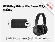 B&O PLAY Beoplay A2 + B&O PLAY BEOPLAY H4 gratis dazu [Media Markt]