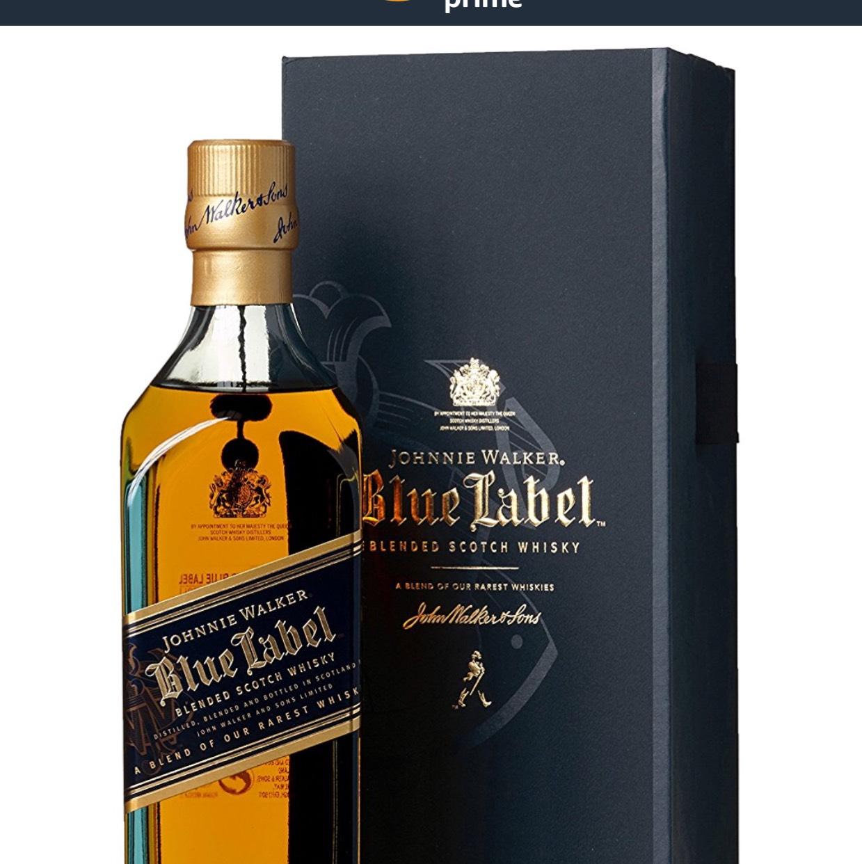 Johnnie Walker Blue Label Blended Scotch Whisky mit Geschenkverpackung (1 x 0.7 l)