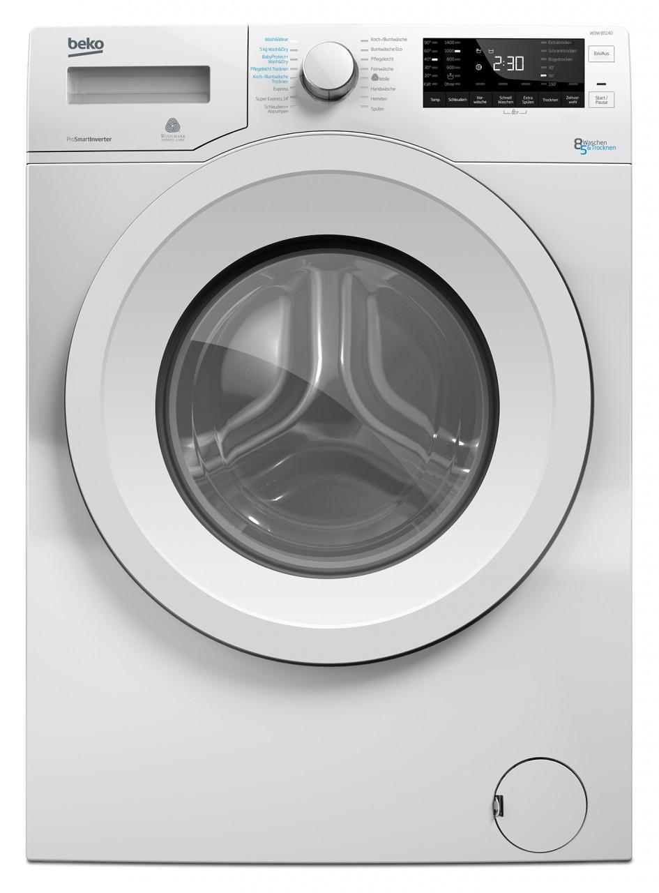 [ao.de] BEKO Waschtrockner WDW 85140 (Waschen 8kg, Trocknen 5kg)