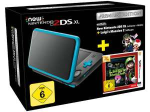 (Media Markt) New Nintendo 2DS XL incl. Luigi's Mansion 2