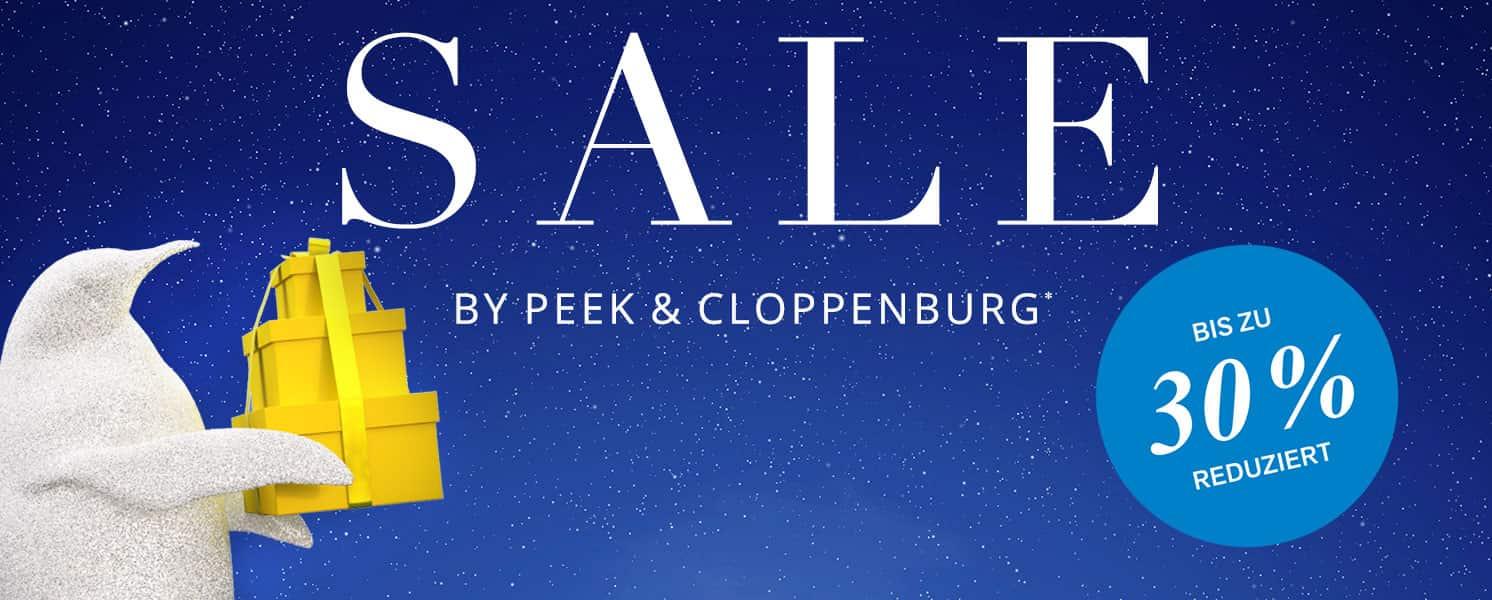 [Peek & Cloppenburg] Sale bis zu 30% + 10% Newsletter + 8% Shoop – max. 41% Rabatt