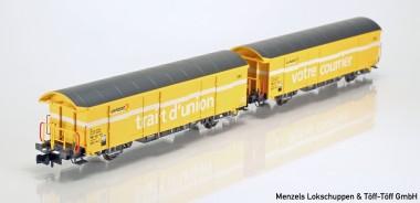 [Modellbahn Spur N] Mabar 86501 SBB Postwagen-Set 2-tlg Ep.5 im Adventskalender bei Menzels Lokschuppen